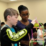 Middle and high school students at STEAM Expo 2015