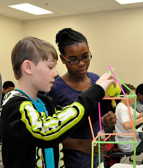 Steam Middle School Home: Middle And High School Students Blast Into STEAM