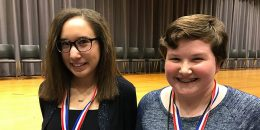 CCPS spelling bee runner-up and winner