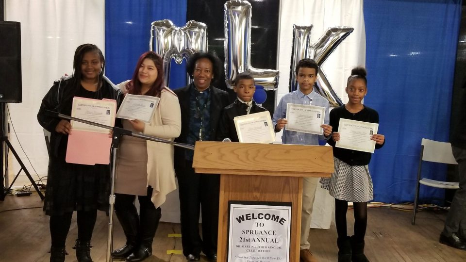 MLK contest winners