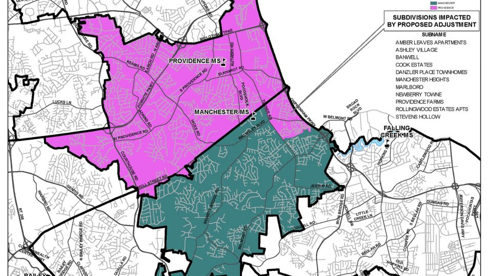 Manchester Providence MS zone map