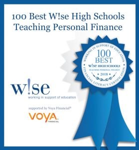 Congratulations to Cosby High School. Top 100 schools teaching personal finance.