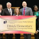 Ettrick Elementary Distinguished National Title 1