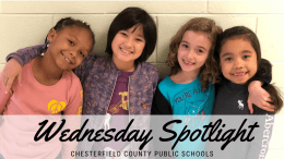 Wednesday Spotlight- CCPS students