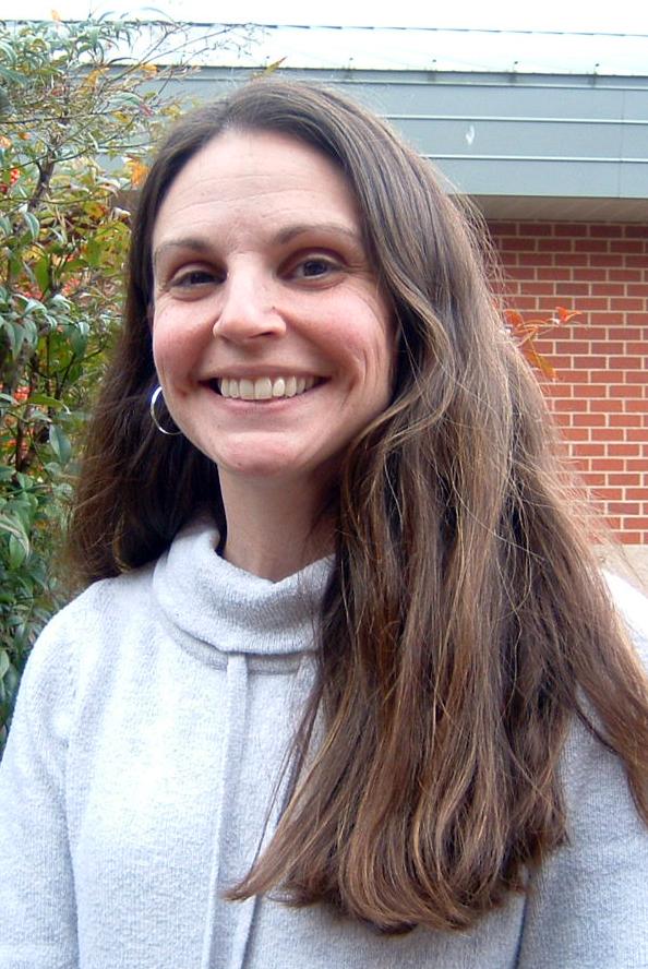 Associate Principal Lisa Davis poses for a photo.