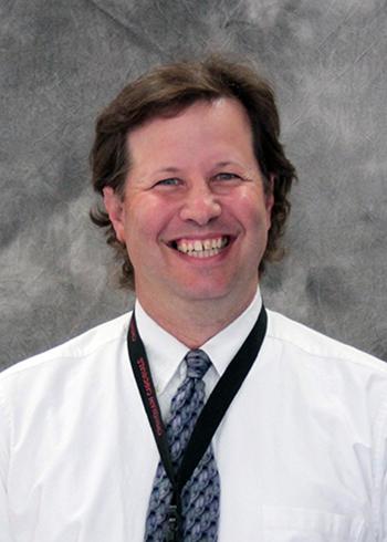 portrait of principal Mr. Campos