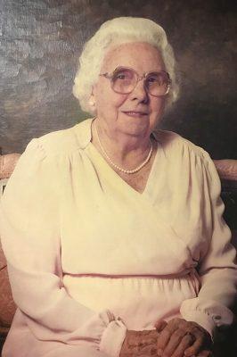 Portrait of Thelma Crenshaw