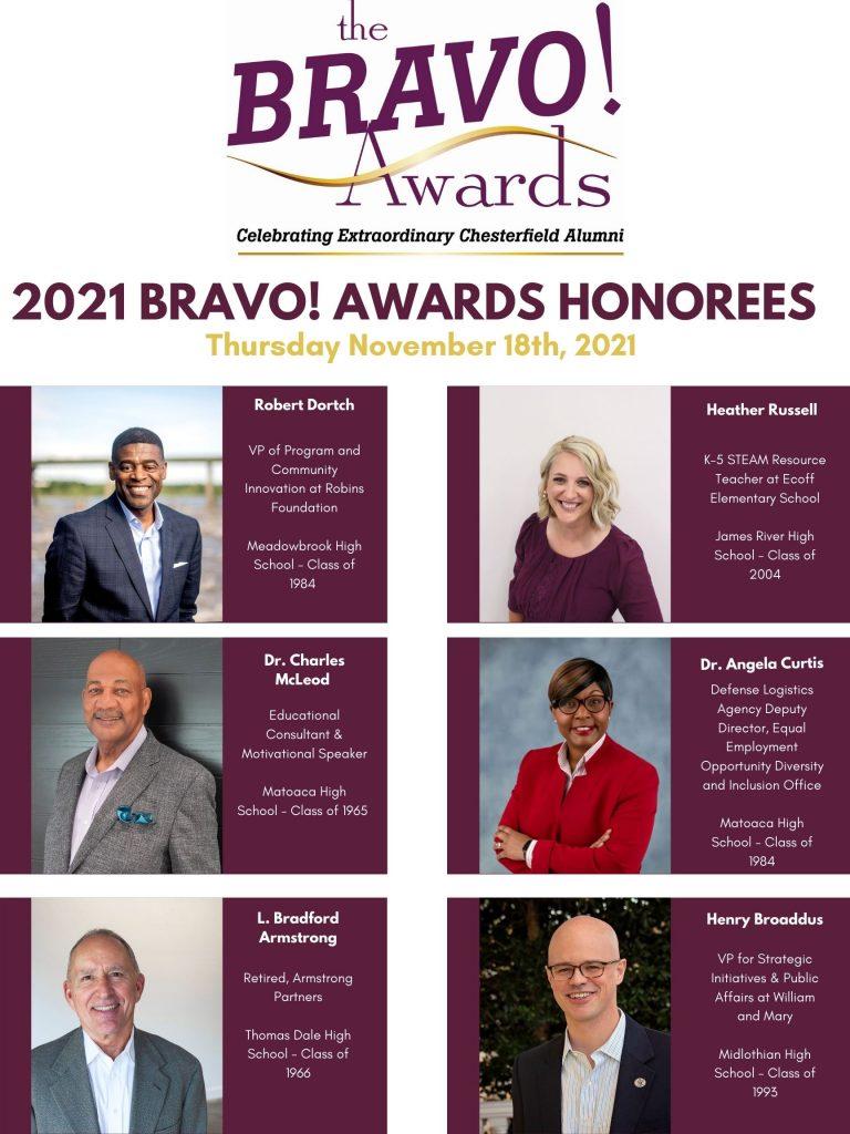 Bravo Award Winners