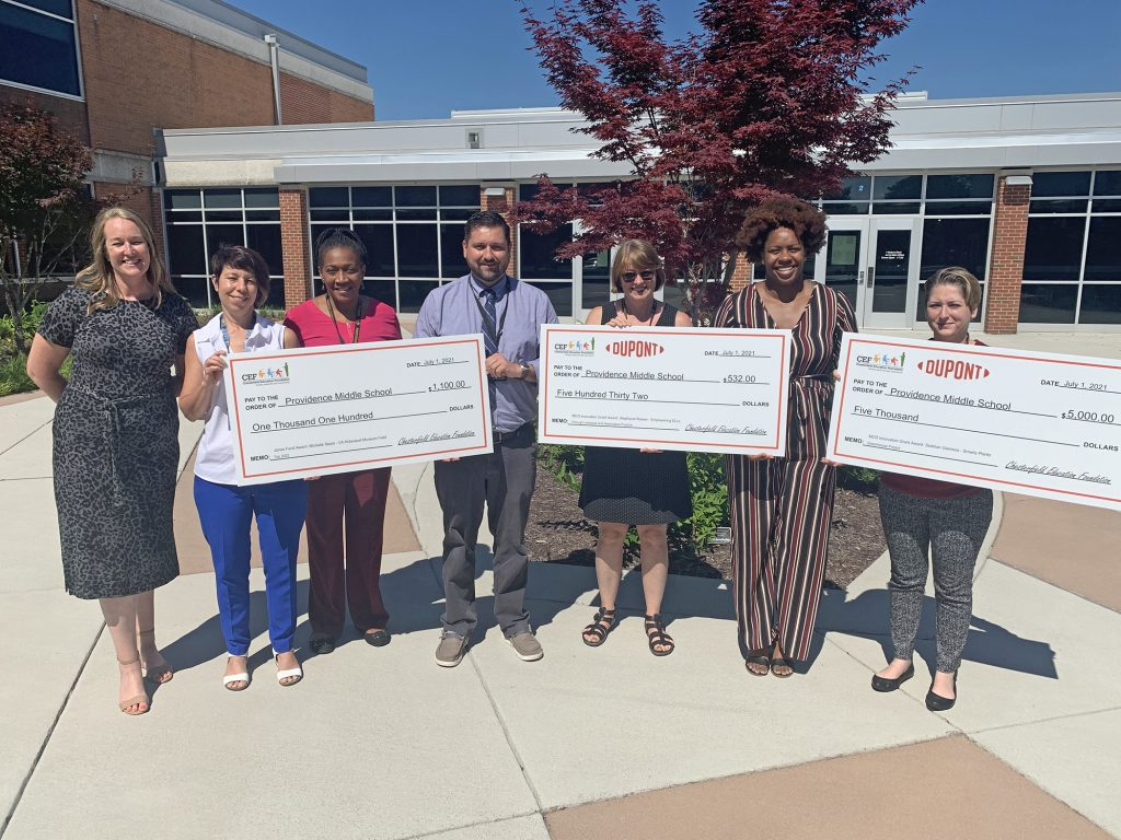 CEF Grants Providence Middle School
