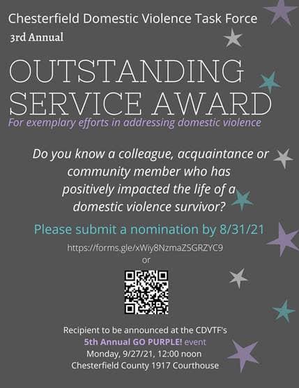 Domestic Service Award