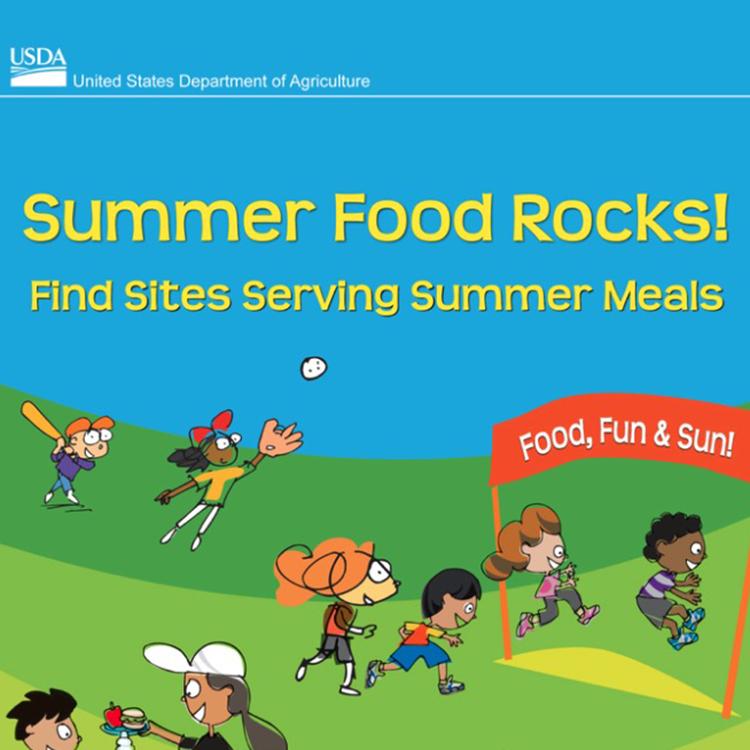 Summer Food Rocks