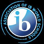 ib logo says association of ib world schools on it.