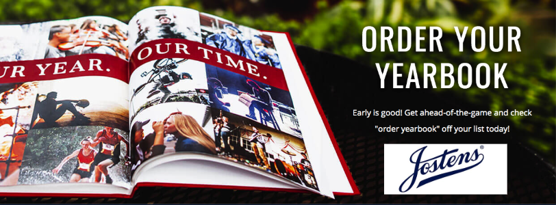 Advertisement for a yearbook.