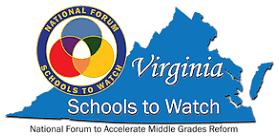 Schools to watch award logo.