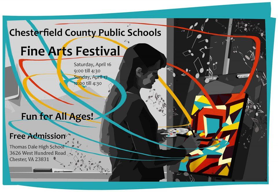 Fine Arts Festival 2016 Poster