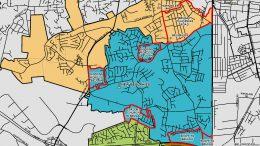 Beulah Redistricting Map