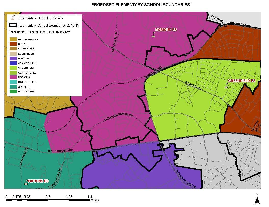 Proposed Elementary Boundaries