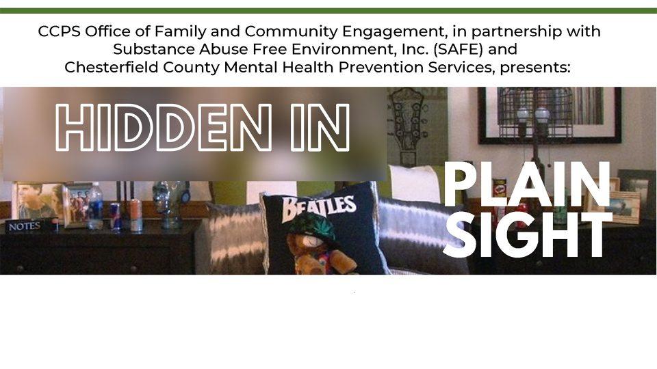 Hidden in Plain Sight | Chesterfield County Public Schools