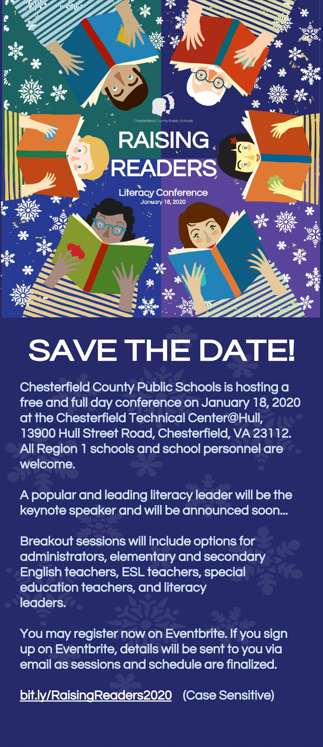 Save the Date - Raising Readers