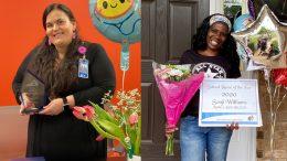 School nurses win awards