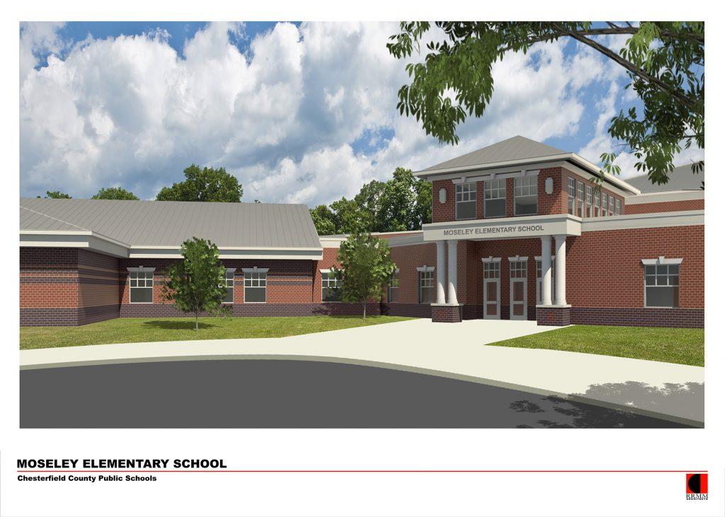 Moseley elementary school elevation